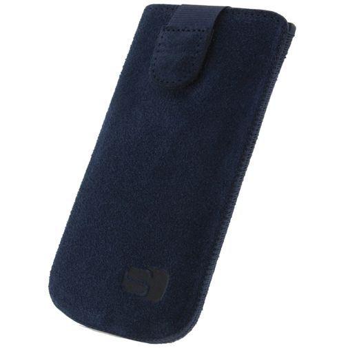Productafbeelding van de Senza Suede Slide Case Intense Blue Size XXL