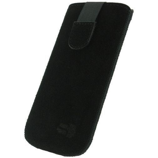 Productafbeelding van de Senza Suede Slide Case Night Black Size L