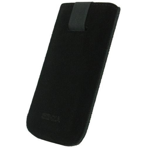 Productafbeelding van de Senza Suede Slide Case Night Black Size XL