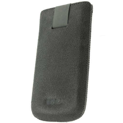 Productafbeelding van de Senza Suede Slide Case Warm Grey Size L