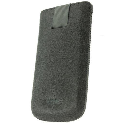 Productafbeelding van de Senza Suede Slide Case Warm Grey Size S