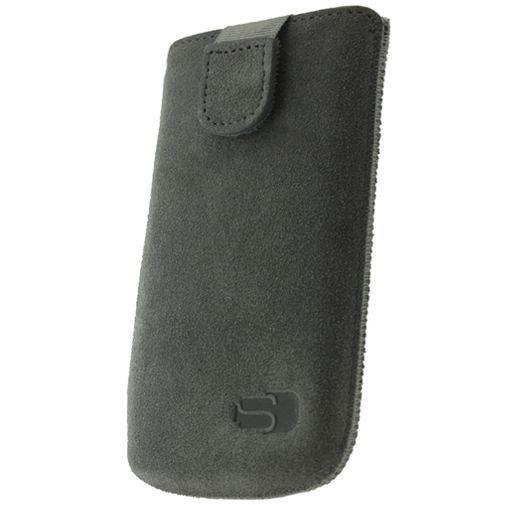 Productafbeelding van de Senza Suede Slide Case Warm Grey Size XL