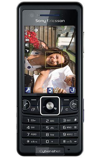 Productafbeelding van de Sony Ericsson C510 Black