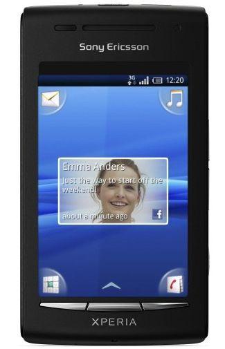 Productafbeelding van de Sony Ericsson Xperia X8 Black
