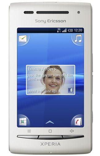 Productafbeelding van de Sony Ericsson Xperia X8 White