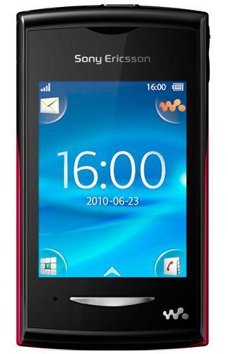 Productafbeelding van de Sony Ericsson Yendo Black Red