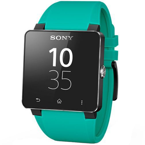Productafbeelding van de Sony SmartWatch 2 Polsband Turquoise