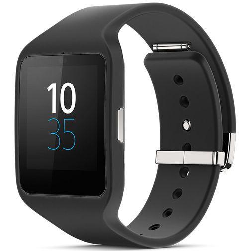 Productafbeelding van de Sony SmartWatch 3 Polsband Black