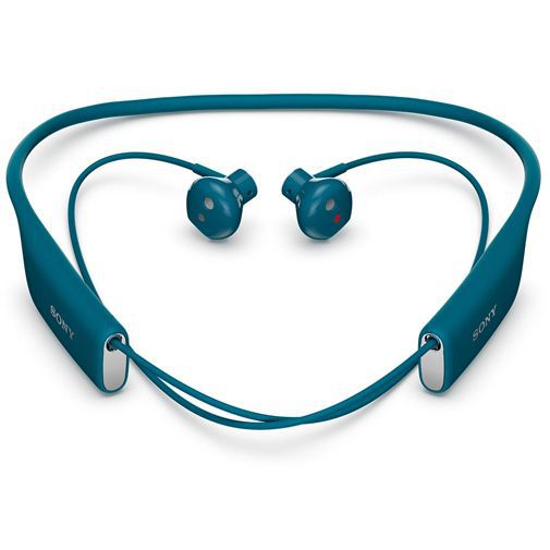 Sony Stereo Bluetooth Headset SBH70 Blue
