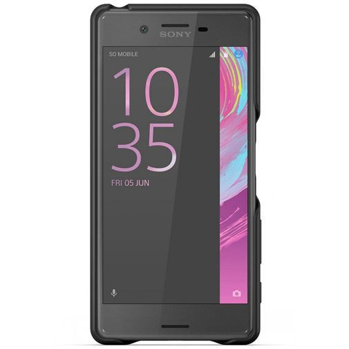 Productafbeelding van de Sony Style Back Cover SBC22 Black Xperia X