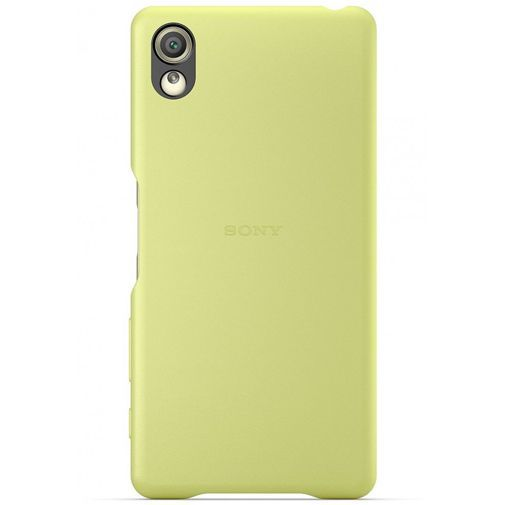 Productafbeelding van de Sony Style Back Cover SBC22 Lime Gold Xperia X