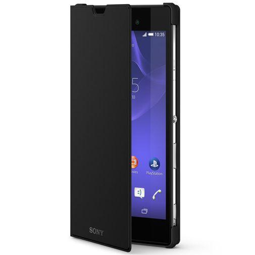 Productafbeelding van de Sony Style Cover Black Xperia T3
