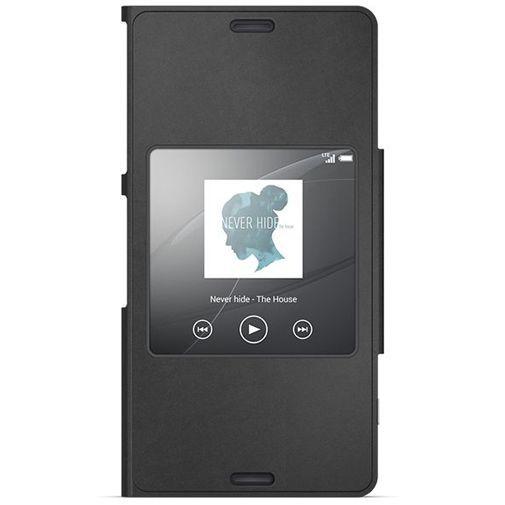 Productafbeelding van de Sony Style Cover Black Xperia Z3 Compact
