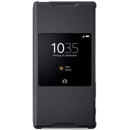 Productafbeelding van de Sony Style Cover Black Xperia Z5 Premium