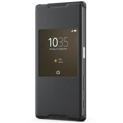 Productafbeelding van de Sony Style Cover Black Xperia Z5