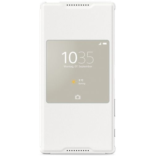 Productafbeelding van de Sony Style Cover Chrome Xperia Z5 Premium