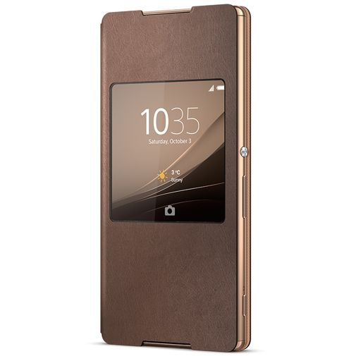 Productafbeelding van de Sony Style Cover Copper Xperia Z3 Plus