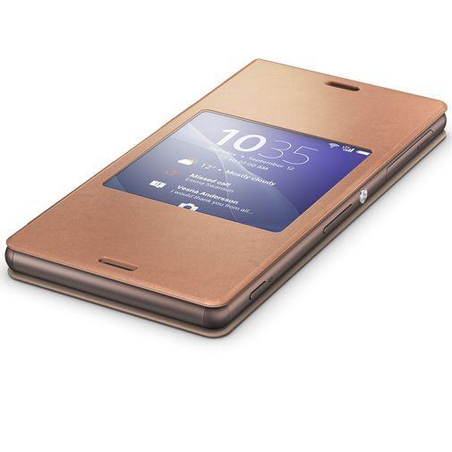 Productafbeelding van de Sony Style Cover Copper Xperia Z3