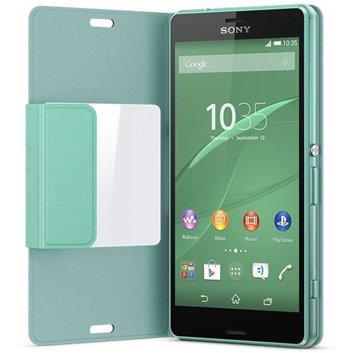 Productafbeelding van de Sony Style Cover Green Xperia Z3 Compact