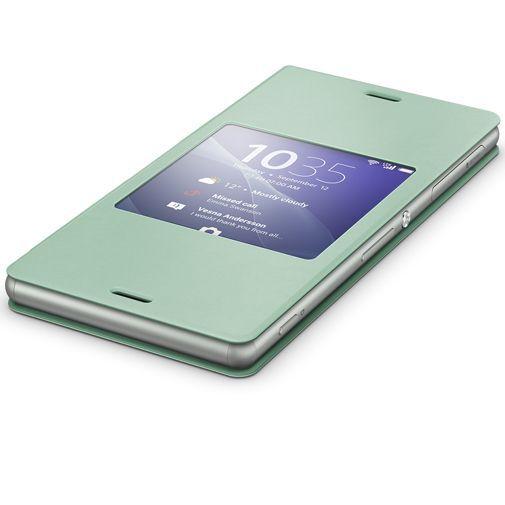 Productafbeelding van de Sony Style Cover Green Xperia Z3