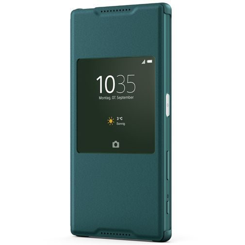 Productafbeelding van de Sony Style Cover Green Xperia Z5