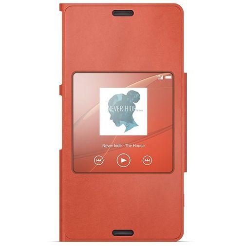 Productafbeelding van de Sony Style Cover Orange Xperia Z3 Compact