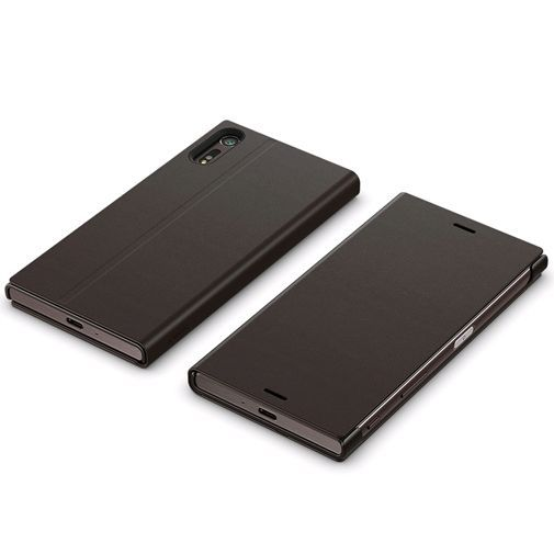 Productafbeelding van de Sony Style Cover Stand SCSF10 Black Xperia XZ