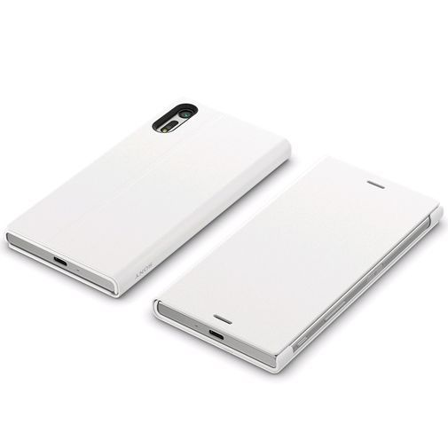 Productafbeelding van de Sony Style Cover Stand SCSF10 White Xperia XZ