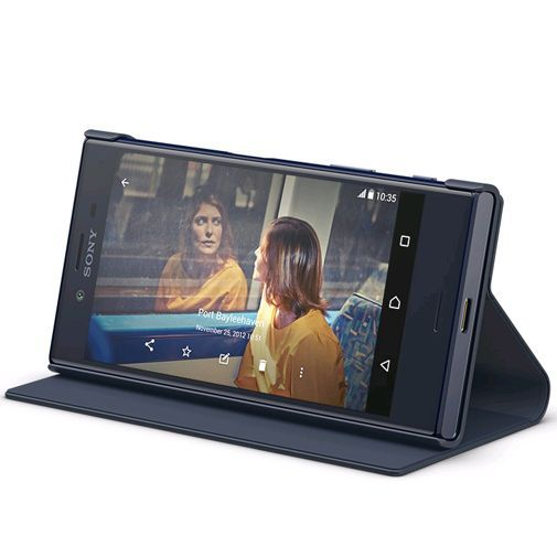 Productafbeelding van de Sony Style Cover Stand SCSF20 Black Xperia X Compact