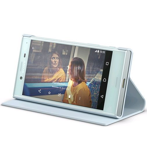 Productafbeelding van de Sony Style Cover Stand SCSF20 Blue Xperia X Compact