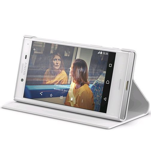 Productafbeelding van de Sony Style Cover Stand SCSF20 White Xperia X Compact