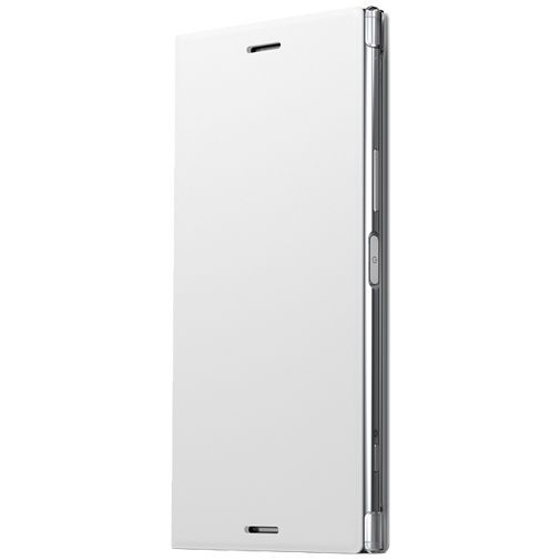 Productafbeelding van de Sony Style Cover Stand SCSG10 White Xperia XZ Premium