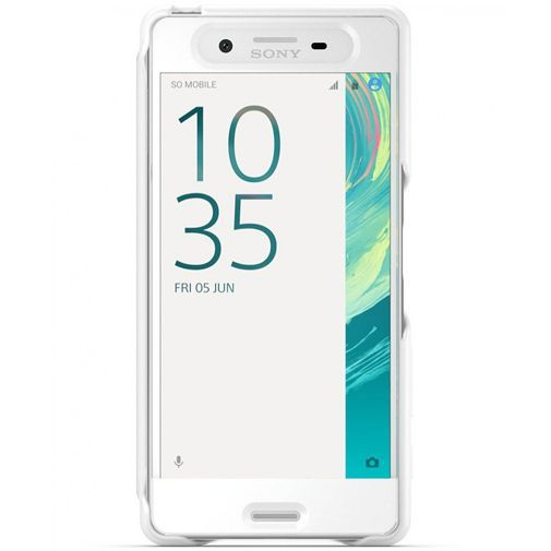 Productafbeelding van de Sony Style Cover Touch SCR50 White Xperia X