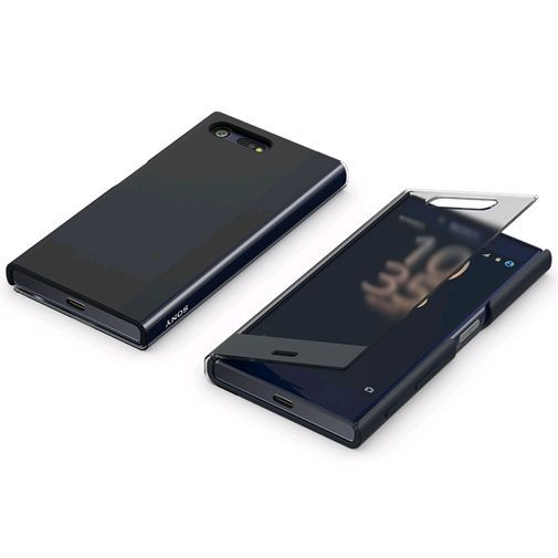 Productafbeelding van de Sony Style Cover Touch SCTF20 Black Xperia X Compact