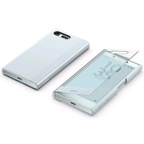 Productafbeelding van de Sony Style Cover Touch SCTF20 Blue Xperia X Compact