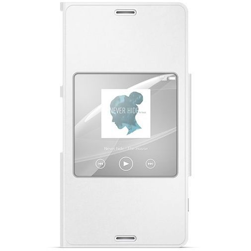Productafbeelding van de Sony Style Cover White Xperia Z3 Compact