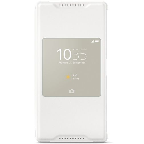 Productafbeelding van de Sony Style Cover White Xperia Z5 Compact