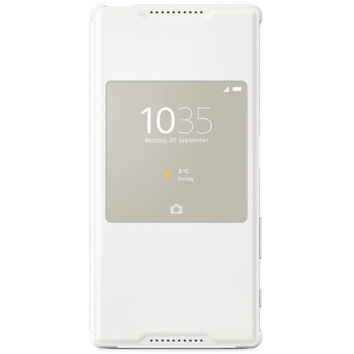 Productafbeelding van de Sony Style Cover White Xperia Z5