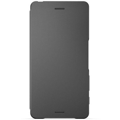 Productafbeelding van de Sony Style Flip Cover SCR52 Black Xperia X