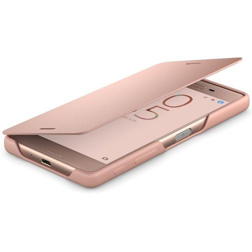 Productafbeelding van de Sony Style Flip Cover SCR52 Rose Gold Xperia X