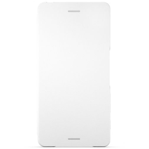 Productafbeelding van de Sony Style Flip Cover SCR52 White Xperia X