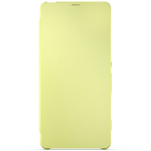 Sony Style Flip Cover SCR54 Lime Gold Xperia XA