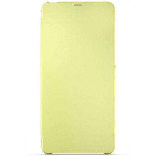 Productafbeelding van de Sony Style Flip Cover SCR54 Lime Gold Xperia XA