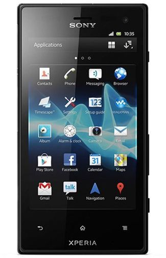 Productafbeelding van de Sony Xperia Acro S Black