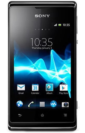 Productafbeelding van de Sony Xperia E Dual Black