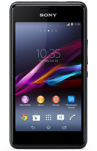 Productafbeelding van de Sony Xperia E1 Dual Black