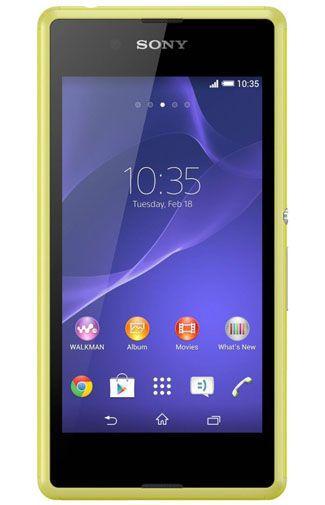 Productafbeelding van de Sony Xperia E3 Lime
