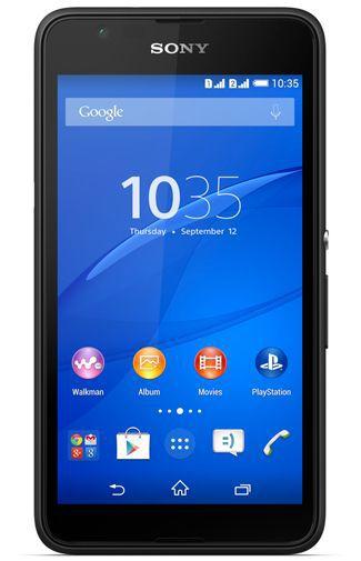Productafbeelding van de Sony Xperia E4 Dual Black