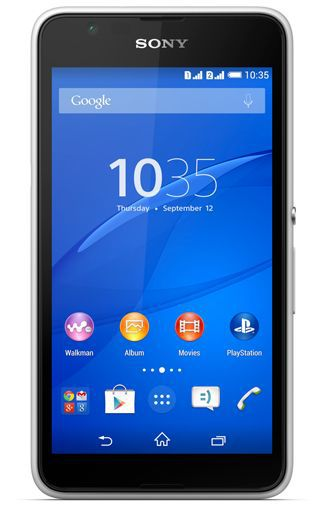 Productafbeelding van de Sony Xperia E4 Dual White
