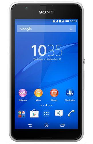 Productafbeelding van de Sony Xperia E4 White